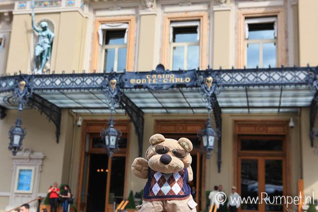 Ik voor het Casino van Monte-Carlo